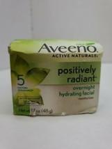Aveno positively radiant overnight hydrating facial moisturizer size 1.7oz - $11.58