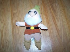 Disney Store Snow White & the Seven Dwarfs Doc Dwarf Bean Bag Plush Doll... - $15.00