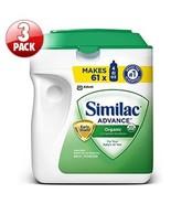 Similac Advance Organic 3-pack; 34 oz. Each Org... - $124.99