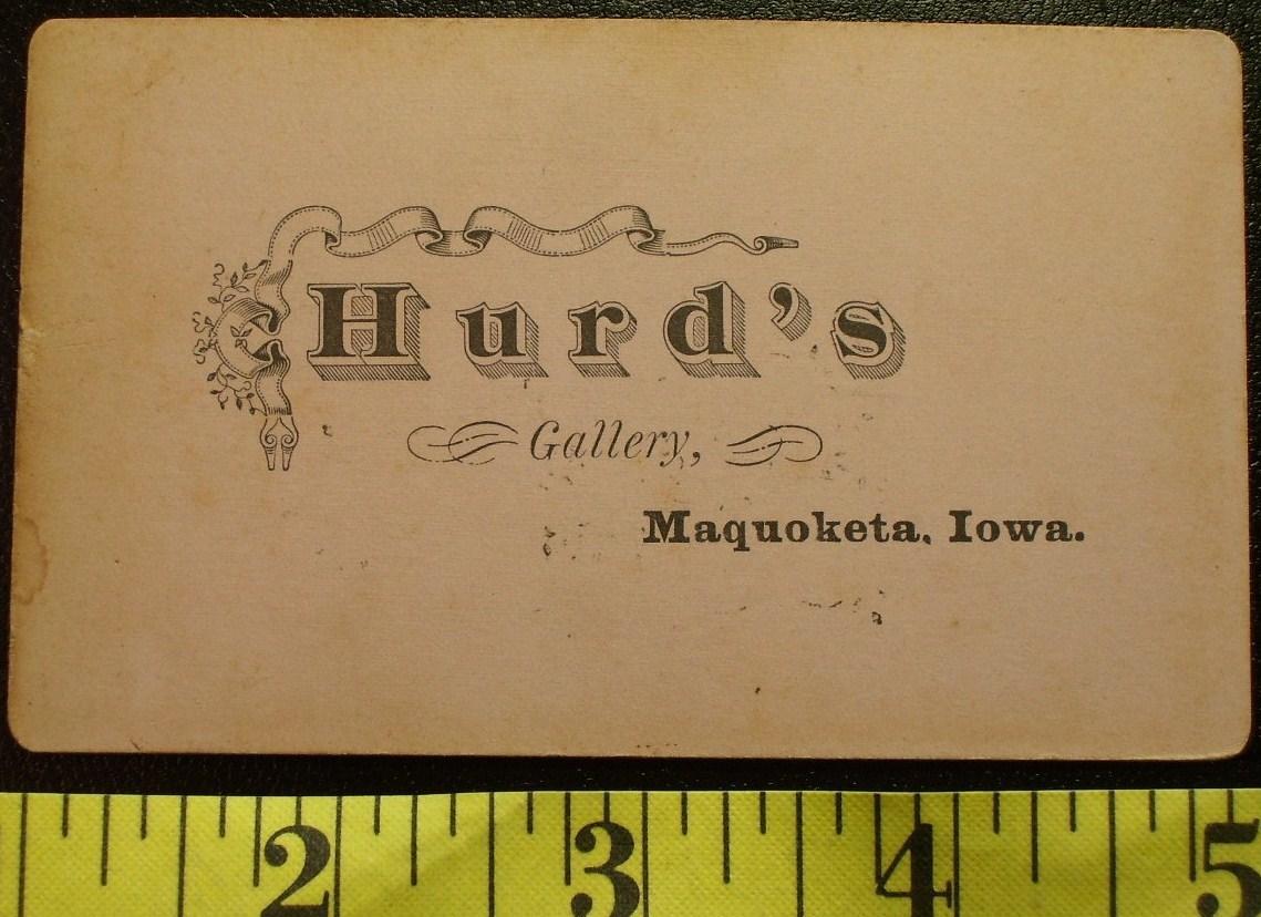 CDV Carte De Viste Photo Tall Handsome Man! c.1859-80