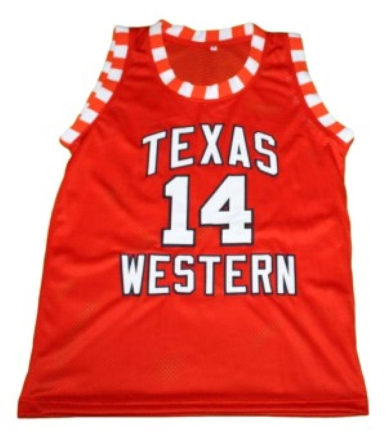 Bobby Joe Hill #14 Texas Western New Men Basketball Jersey Orange Any Size