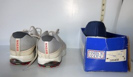 Men's Used Athletic Shoes Gray Nike Air w/Laces Sz 11 & New Navy Deck Shoes Sz 9 - $13.37