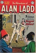 The Adventures of Alan Ladd Comic Book #9, DC Comics 1951 FINE- - $69.58
