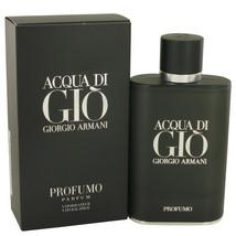Acqua Di Gio Profumo by Giorgio Armani Eau De Parfum Spray 4.2 oz for Men - $113.85