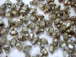 vintage antique tribal old silver beads charm lot necklace bracelet elem... - $890.01