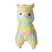 Black Temptation Plush Doll for Kids Rainbow Lamb Plush Toy Ideas Stuffe... - $27.50