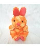 "11"" Animal Adventure Bunny Rabbit Pink Orange Tie Dye Plush Easter Toy B230 - $16.99"