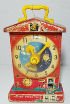 Vintage Fisher Price Music Box Tick-Tock Clock #998 - $28.70