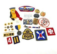 BSA Boy Scout Cub Scout Patch Pin Slides Lot Some Vintage Webelo Activity Badges - $34.49