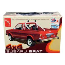 Skill 2 Model Kit 1978 Subaru BRAT 4x4 Pickup Truck 1/25 Scale Model by AMT AMT1 - $49.99