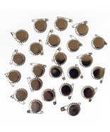 Paper Studio Spare Parts Chrome Flat Bottle Caps with Safety Pins - $10.00