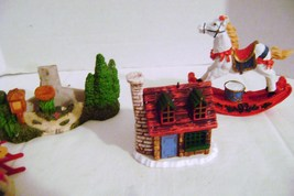 Christmas Village Props and Figures Lot 1 - $5.00