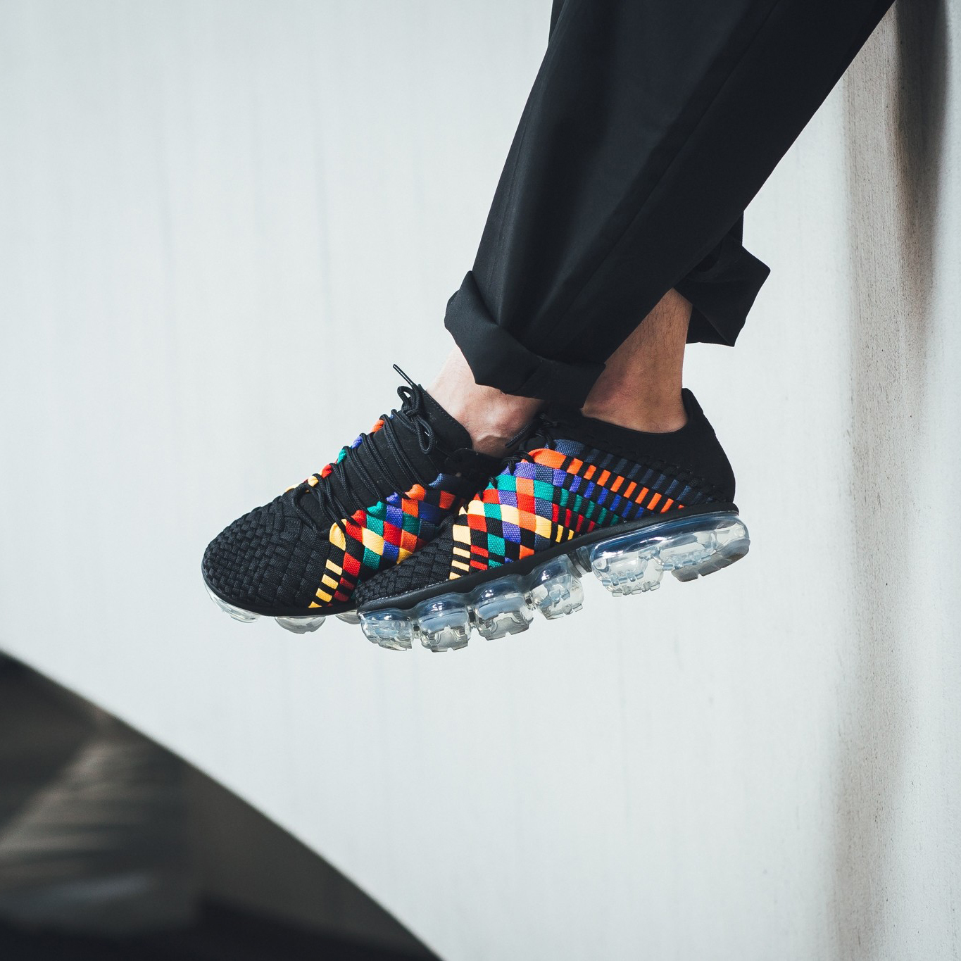 Nike Air Vapormax Inneva (Rainbow  Pride  Multicolor  Black) Men 7- c0bd83aa9