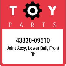 43330-09510 Toyota Joint Assy Lwr Ball, New Genuine OEM Part - $57.66