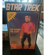 Star trek 12 inch model mr.scott brand new - $27.99