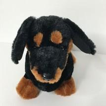 "Ganz Webkinz Dachshund Plush Stuffed Animal Beanie 10"" Long No Code - $12.75"