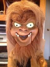Gemmy Halloween Big Head Animated Singing Dancing Werewolf Brand New In ... - £148.73 GBP