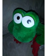 """Selector Toy & Co Tree Frog Plush 12"""" Red Green Yellow Ages 3+ Made In C... - $12.86"""