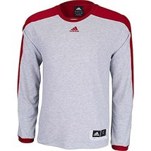 Adidas Team Speed Shooter Mens Basketball Shirt XS Medium Grey Heather-P... - $39.99