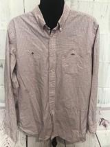 Ralph Lauren Mercer Sz XL Long Sleeve Button Up Gingham Checked EUC - $57.80