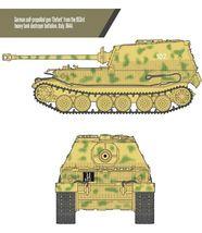 Academy 13537 German Elefant Sd.kfz.184 Tank Plastic Hobby Model Kit image 6