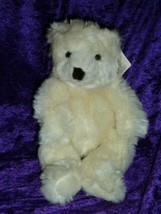 "Creamsicle Russ Berrie White Polar Bear Soft Plush Stuffed Animal 11"" Ta... - $59.39"