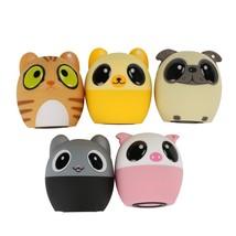 Mini Cartoon Cute Bluetooth Speaker Outdoor Music Speakers