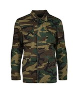 NEW Alpha Industries Dragon Tour Field Coat WOODLAND CAMO XS S JACKET  NWT  - $164.99