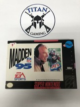 Madden NFL 95 (Super Nintendo Entertainment System, 1994) - $7.60