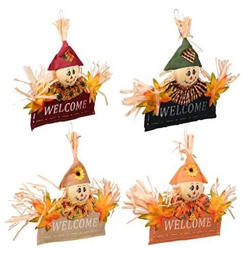 Primary image for Thanksgiving Fall Autumn Harvest Pumpkin Leaves Decorations Home Decor Welcome B