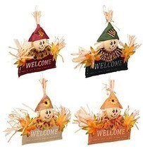 Thanksgiving Fall Autumn Harvest Pumpkin Leaves Decorations Home Decor W... - $12.86