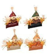 Thanksgiving Fall Autumn Harvest Pumpkin Leaves Decorations Home Decor W... - $14.84