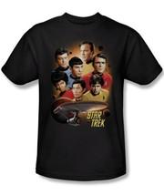 Star Trek Classic TV Series Cast Heart of the Enterprise T-Shirt NEW UNWORN - $19.34+