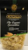 Orogiallo pasta Organic Fusilloni  - 12 pieces x 16oz (454gr) - $49.49