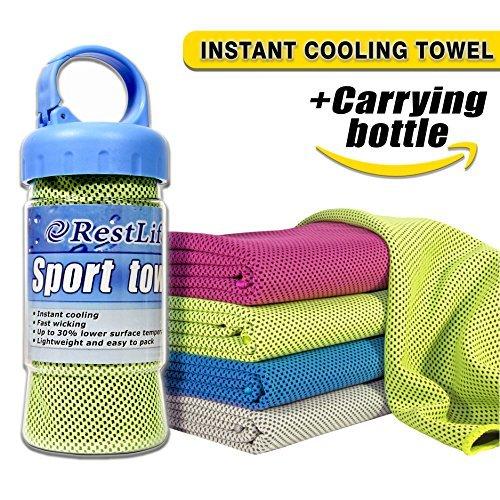 Best Mens Gym Towel: Cooling Towel Set