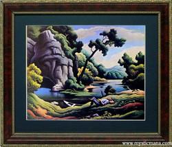 Benton Art Print Highest Quality Framed Display 20x15 - $75.00