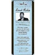 Lionel Richie Exlusive Event Promo Card - $3.95