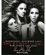 The Kardashian Sisters at Lax Nightclub Vegas Dec 31st Promo Card - $3.95