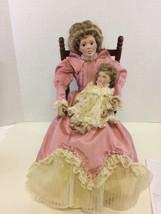 Vintage Gorham Storytime Collector Doll Handcrafted Porcelain Mother Bab... - $67.68