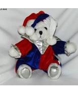 Toy Works 9 inch Court Jester Clown Plush Bear - $10.99
