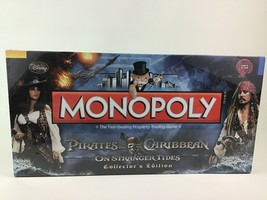 Monopoly Pirates Of The Caribbean Stranger Tides Collectors Edition Boar... - $53.41
