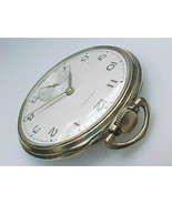 GOLD FILLED LIDO Vintage POCKET WATCH - Free shipping with insurance - $375.00