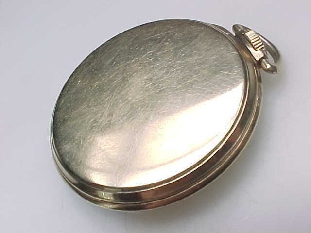 GOLD FILLED LIDO Vintage POCKET WATCH - Free shipping with insurance