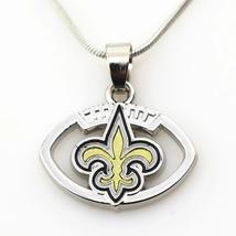 New Orleans Saints Pendant Snake Chain Necklace - €8,48 EUR