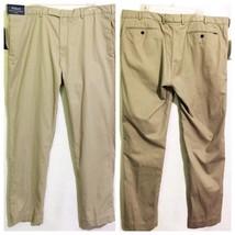 Polo by Ralph Lauren Casual Pants Slim Fit Size 40x32 100% Cotton Khaki - $59.39