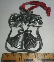 Avon Collectibles Pewter Christmas Ornament ~ 1999 Season of Peace - $9.85