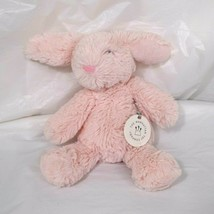 Manhattan Toy Company Lovelies Binky Bunny Pink Small Rabbit Plush Toy 8... - $17.81