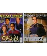 Star Trek Communicator Magazine issue 133 & 135... - $9.95