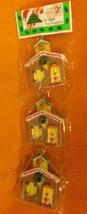 Misco Plastic Christmas Tree Ornaments 6 Pieces #X6580-4 UPC:03146253947 - $7.53