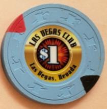 Las Vegas Club Las Vegas, Nevada $1 Casino Chip - $2.95